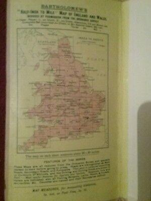 1910 ? Old Bartholomews New Reduced Survey  Sheet 2 South Northumberland Map 3