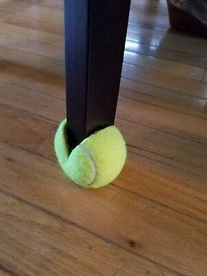 5 Dead Used Tennis Balls Dog Toys Fetch Catch Walkers Garage Corner Safety 5