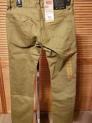 NWT $44.00 Maxi Milian Boys Red wBlack Stripes Skinny Jeans ............#Y