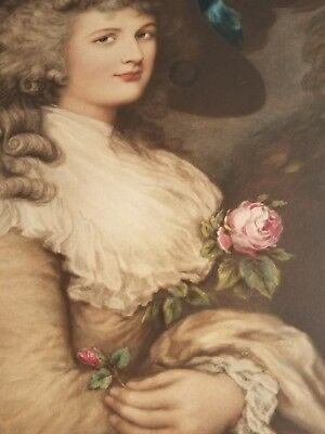 After Gainsborough - Her Grace Georgiana Duchess of Devonshire - Rare & Large - 7
