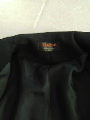4 sur 9 Magnifique tailleur jupe noir taille 36 élégant neuf ceinture dorée  smoking e226be0c1ec9