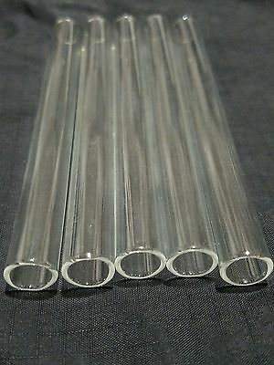 """4"""" Long 6 Tubes Glass Pyrex Blowing 10 mm OD 8 mm ID Tubing 1 mm Thick Wall 3"""
