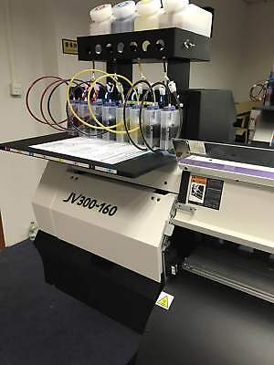 4 bottles,8 Cartridge Bulk Ink Supply System For Roland FH-740 / XF-640 / XR-640 3