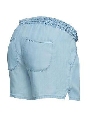 Mamalicious Nesli Maternity Denim Shorts / Blue XL Brand New Free P&P UK Seller 2