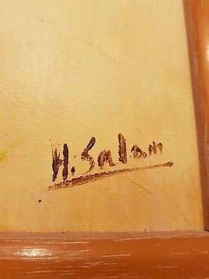 Cuadro original firmado H.Salom 2
