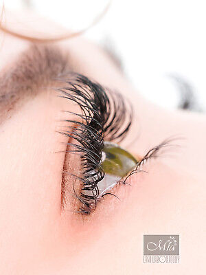 Individual Eyelash Extensions Mia Mink Lashes Semi Permanent J B C D DD L Curl 4