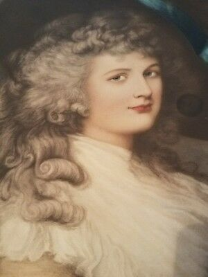 After Gainsborough - Her Grace Georgiana Duchess of Devonshire - Rare & Large - 6
