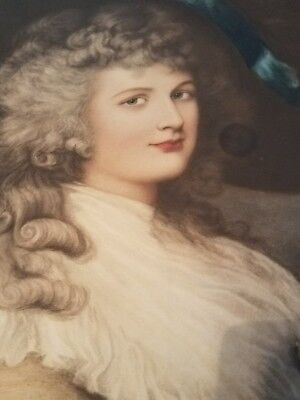 After Gainsborough - Her Grace Georgiana Duchess of Devonshire - Rare & Large - 8
