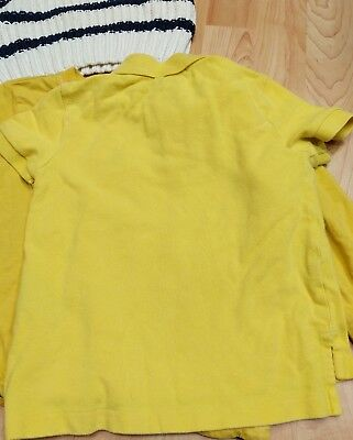 Lot of Boys 2T Toddler GAP Sweater Polo Ralph Lauren Yellow Janie & Jack GUC tie 11