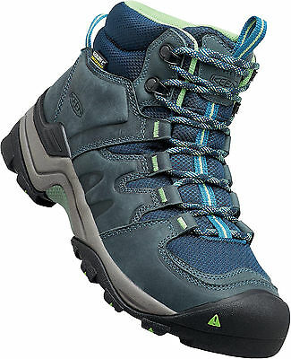 0b6b508f316 KEEN WOMEN'S GYPSUM II Mid WP Hiking Boots Midnight Navy / Opaline 1015355  []