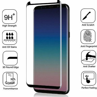 Full Cover Tempered Glass Screen Protector +TPU Case For Samsung Galaxy S9 /Plus 2