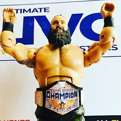 Jakks Figures Mattel WWE WWF Faux Leather United States Title for Hasbro