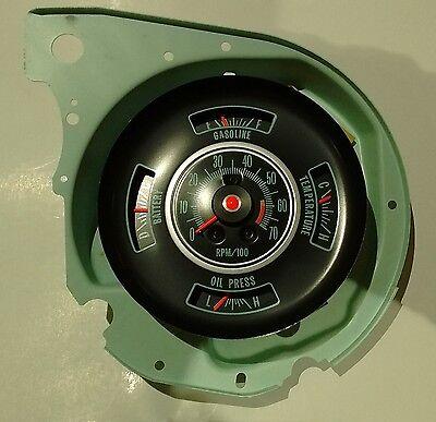 factory tachometer dash gauge 69 chevy chevelle el camino 6000 factory tachometer dash gauge 69 chevy chevelle el camino 6000 rpm tach gauges 3