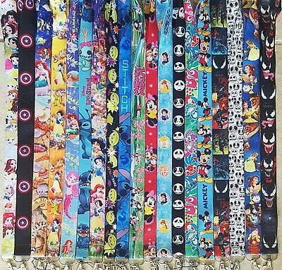 Pick One! Disney World Lanyard For Pin Trading! Mickey Minnie Nemo Marvel B3G1 10