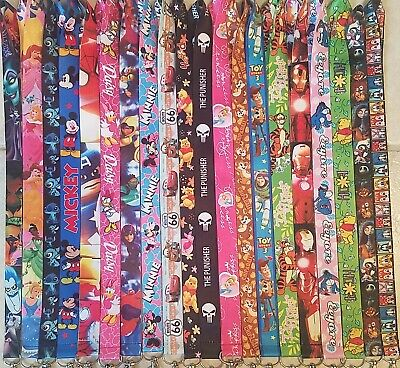 Pick One! Disney World Lanyard For Pin Trading! Mickey Minnie Nemo Marvel B3G1 4