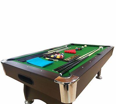 FEET Billiard Pool Table Snooker Full Set Accessories Game Mod - 7 foot billiard table