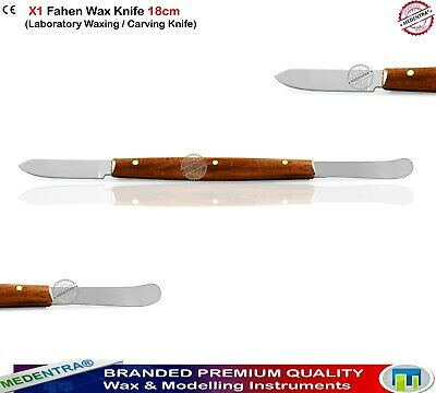 Laboratory Wax Carving Plaster Fahen Knife Cement Spatula Beale Lecron Dental CE 3