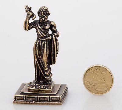 Ancient Greek Miniatures Olympian Gods Pantheon Sculpture Statue Zamac Set 5 pcs