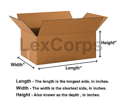 SHIPPING BOXES - Many Sizes Available 9