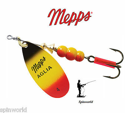 ESOX TROUT PERCH CHUB Mepps Aglia Furia Variety Sizes  !!