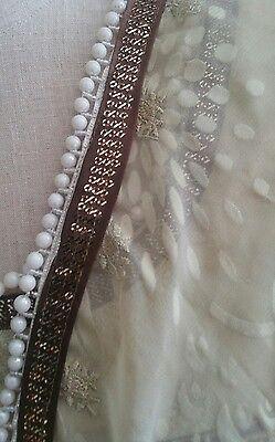 Eid pakistani designer anarkali shalwar kameez saree sari lengha suit medium 6