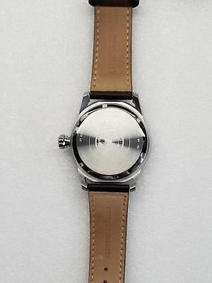 Citizen Avion Eco-Drive Black Dial Date Black Leather Men's Watch Aw1361-01E New 4