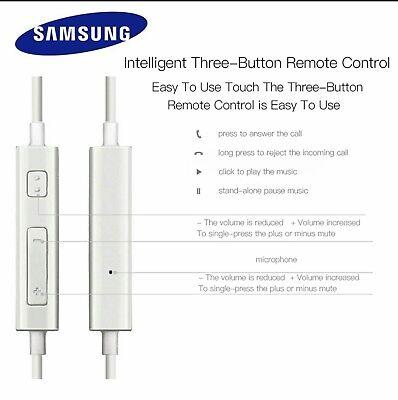 Écouteur Original Samsung Pour  S5 S6 S7 S8 Edge Plus 6