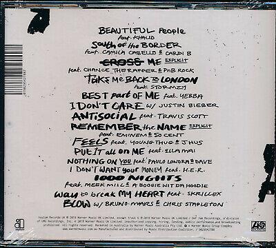 Ed Sheeran No 6 Collaborations Project CD NEW 2