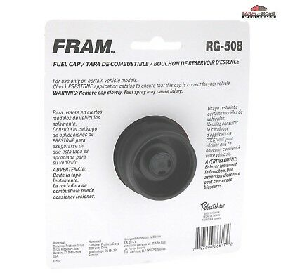 FRAM Locking Gas Fuel Cap RG-785 ~ NEW
