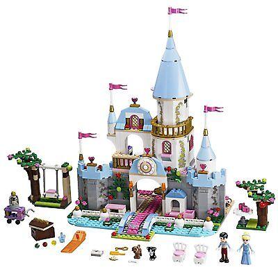 Lego Disney Princess 41055 CINDERELLA'S ROMANTIC CASTLE clock Prince NEW NISB 8