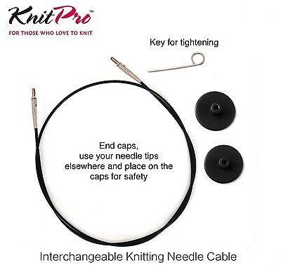 Circular Knitting needles - KnitPro Symfonie Interchangable  - Wood Tips 4