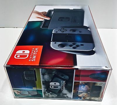 1 Console Box Protector For Nintendo SWITCH Original + Super Smash Bros. READ! 5