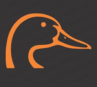 "duck 6.5/"" WATERFOWL HUNTER vinyl decal car truck window laptop sticker"