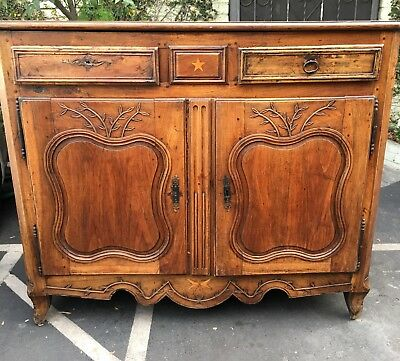 Superb Antique 18th Century French Country Buffet or Commode 3