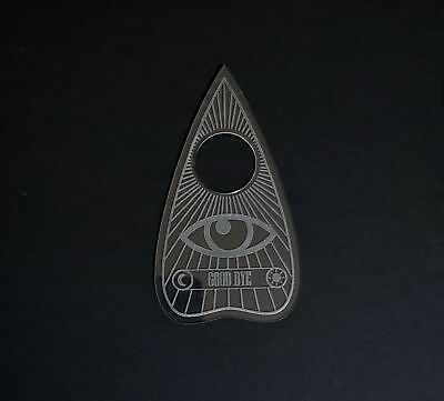 Planchette in Acrylic or Wood 3