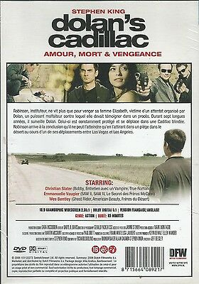 Combo Blu Ray + DVD  //  DOLAN'S CADILLAC  // Christian Slater ) NEUF cellophané 2