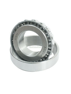 H● 30206 30x62x17.25mm Single Row Tapered Roller Bearing. 3
