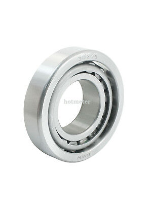 H● 30206 30x62x17.25mm Single Row Tapered Roller Bearing. 2