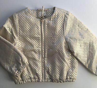 No Added Sugar Girls Amazing Gold Bomber Jacket Size 2-3 Years BNWT 6