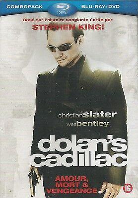 Combo Blu Ray + DVD  //  DOLAN'S CADILLAC  // Christian Slater ) NEUF cellophané 3