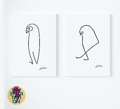 Pablo Picasso Art Prints - Picasso Animals Prints - Sausage Dog - Picasso Dog 3