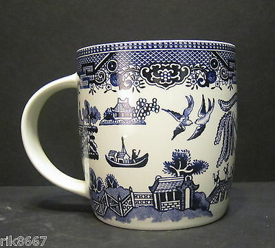 6 A Set Of Six Willow pattern Dream Mugs  by Churchill England 3