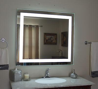 LIGHTED BATHROOM VANITY mirror, led , wall mounted, 48\