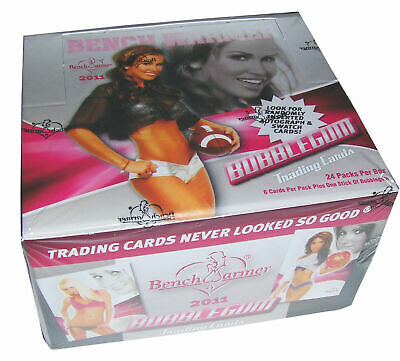 """Factory Sealed,2011 """"Bench Warmer"""" Bubble Gum Trading Cards,24 Packs Per Box 3"""