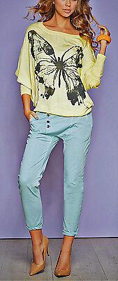"""""""Retourenware"""" Coole Boyfriend Jeans Hose Grau GR. 42 Stretch 908653 NEU TOP! 8"""