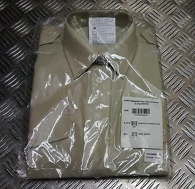 Genuine British Army All Ranks No2 Dress Shirt Or Blouse Fawn Womans New Shirts Men's Clothing