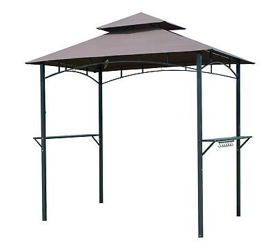 Bbq Tent Barbecue Canopy Outdoor Gazebo Grill For Sun Shade Yard 8 Ft 2