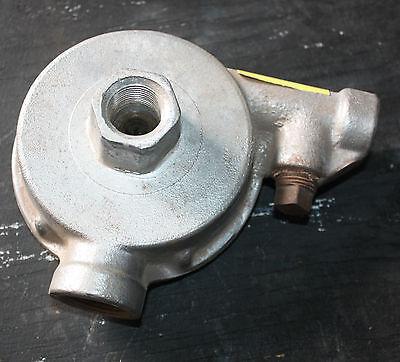 Reliable model C mechanical fire sprinkler alarm pelton wheel drive 2