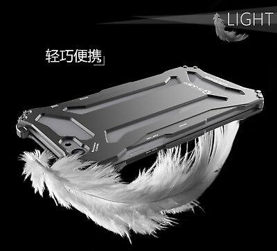 For iPhone 5s SE 6s 7 Plus Luxury Shockproof Aluminum Metal Slim Hard Cover Case 3