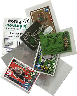 storage.boutique TRADING CARD Protection Sleeves Lego Panini Star Wars Topps etc